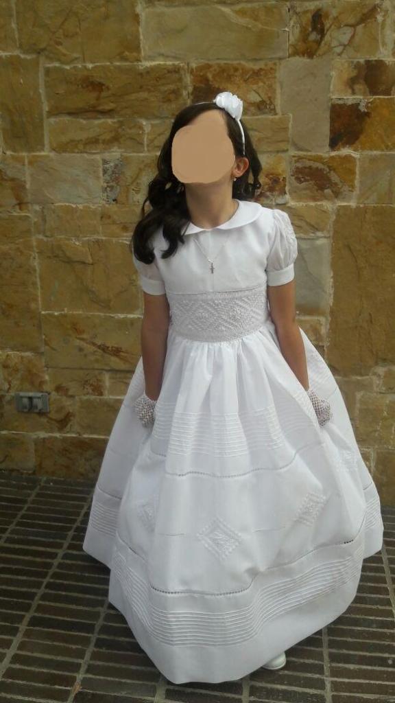 Hermoso Y Exclusivo Vestido De Primera Comunión Talla 12