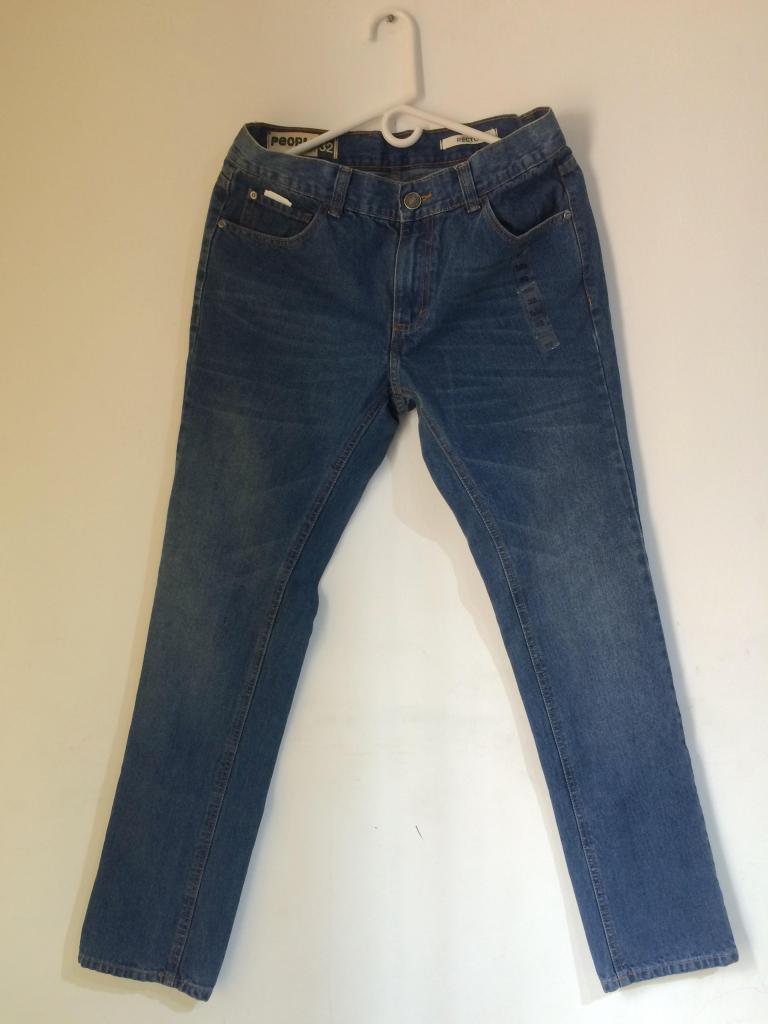 Jeans Clasico Hombre Talla 32 Nuevo
