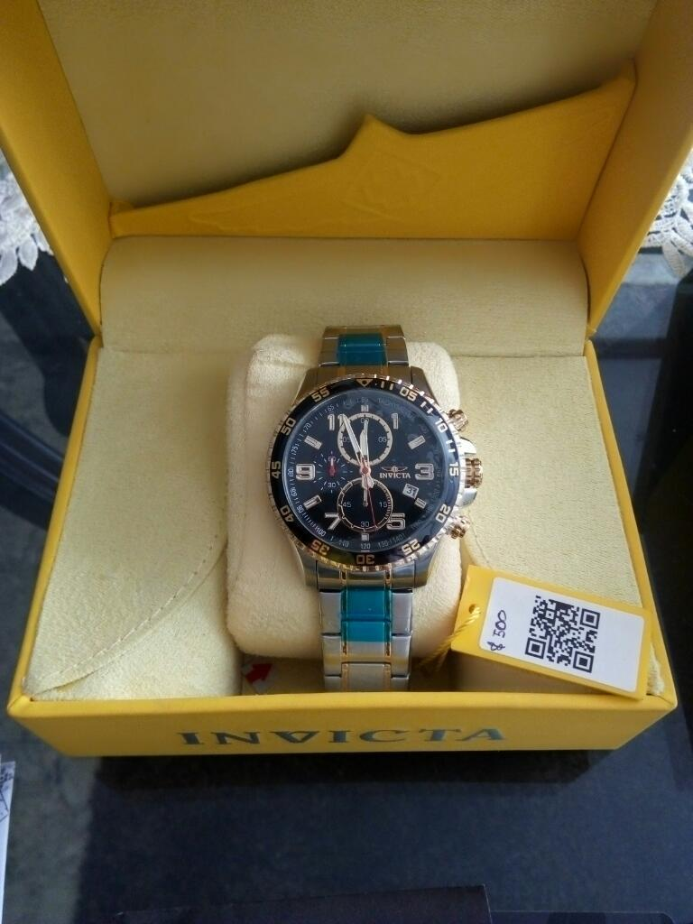Oferta Reloj Invicta en Acero Inoxidable