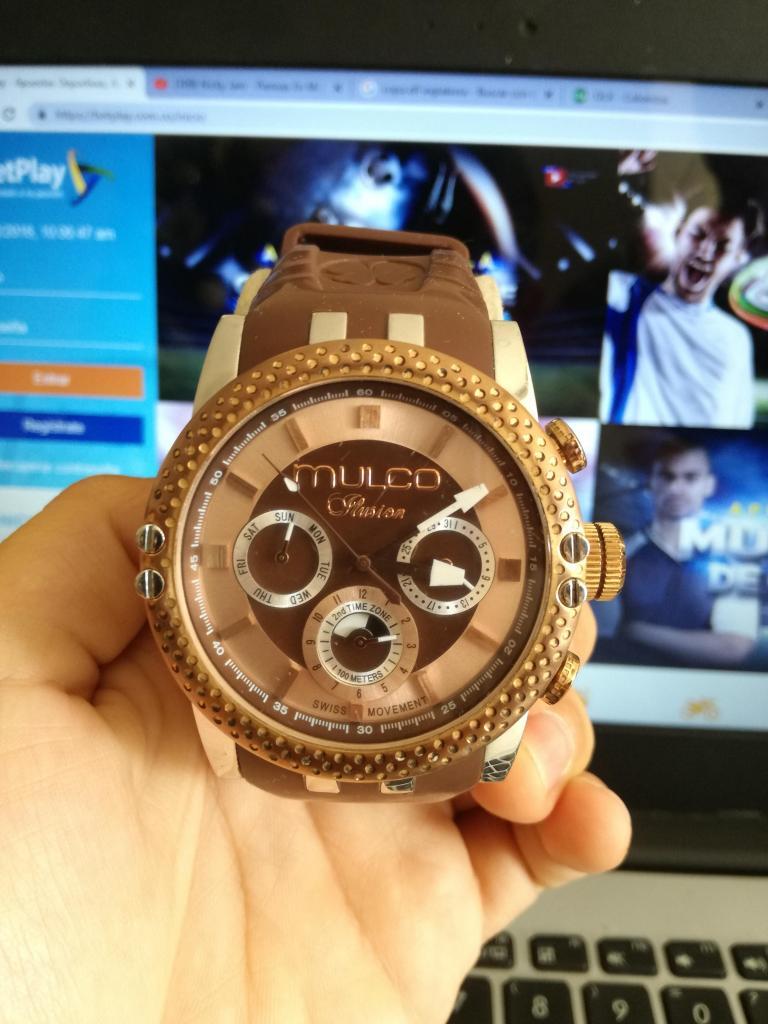 Reloj Mulco Ilusion Original STEEL CASEBACK