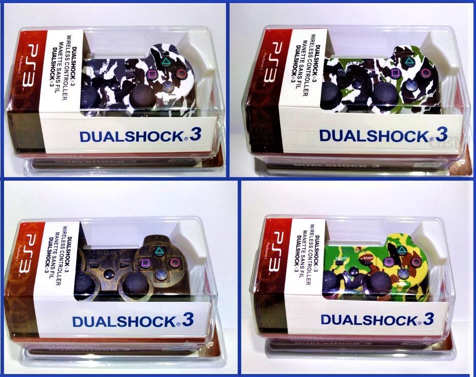 Control Para Playstation 3 Importado camuflados