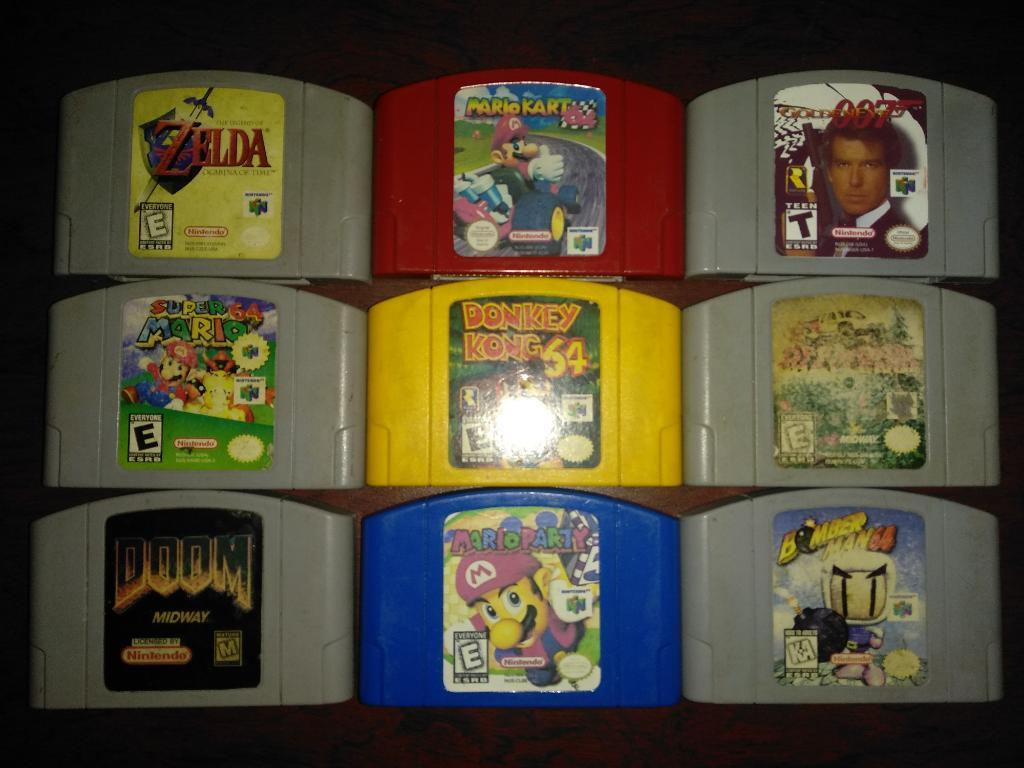 Juegos Nintendo 64 desde 20 Mil