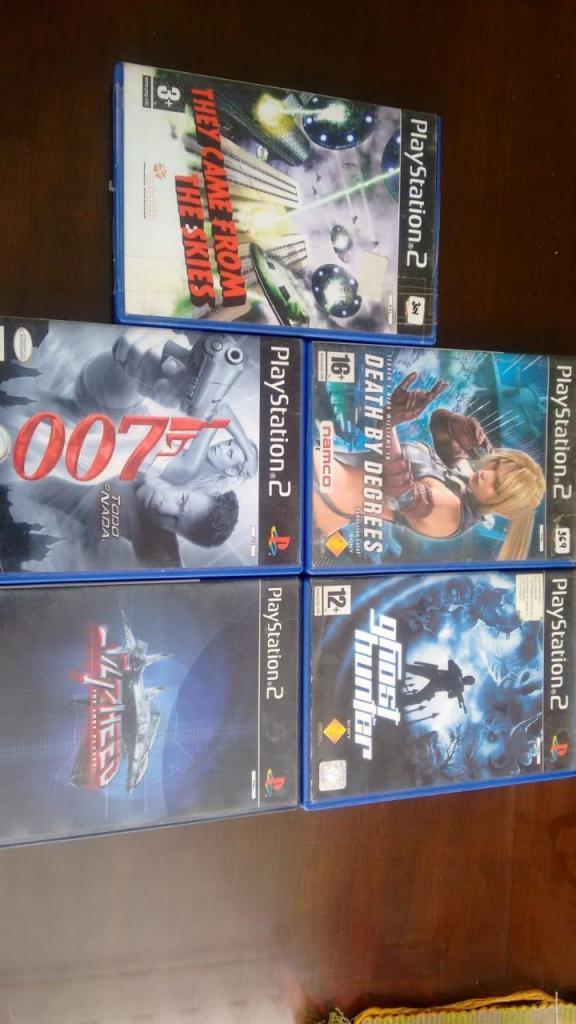 Juegos de PS2 originales formato PAL