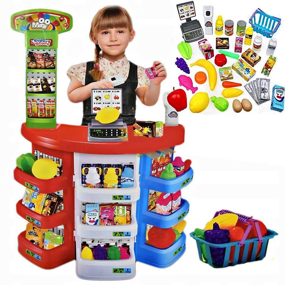 Mini Super Mercado de juguete para niños y niña 100 nuevos