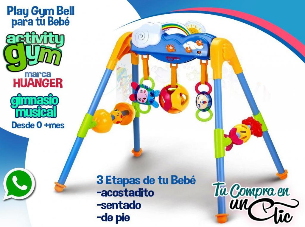 Play Gym Musical para 3 Etapas del Bebé, Activity gym,
