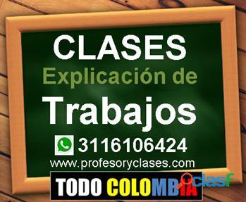Profesor particular Finanzas a domicilio Medellin