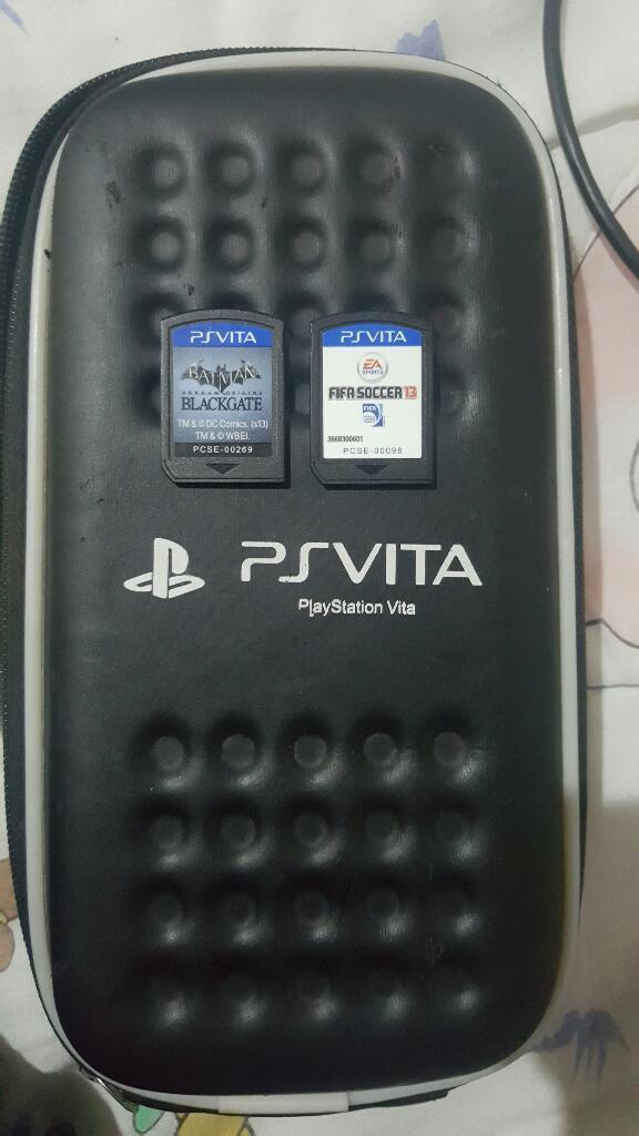 Ps Vita con 4gb Y Dos Juegos