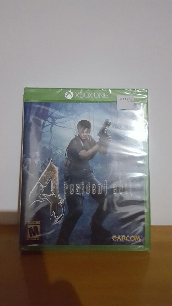 Resident Evil 4 Y 5 Xbox One Sellados