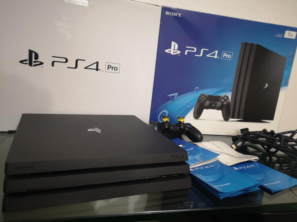 Sony Playstation Ps4 Pro 6 Juegos Cambio