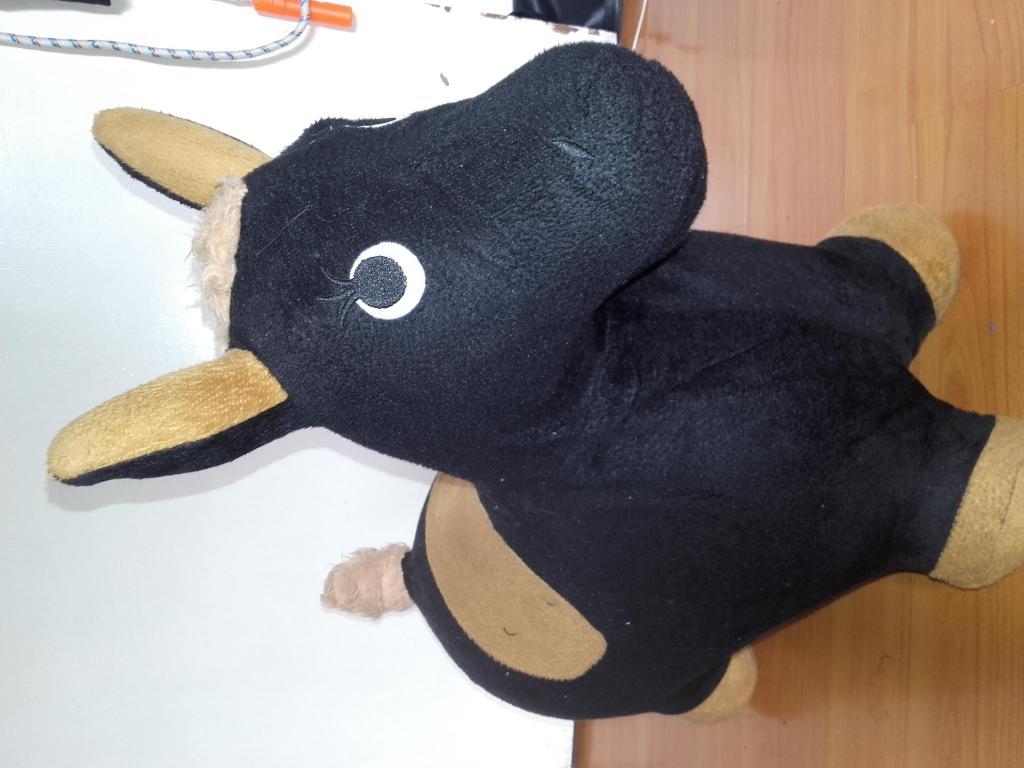 burro inflable para montar de 49 cms