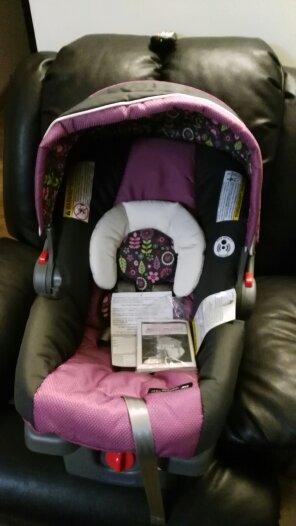 coche y silla de auto para bebe