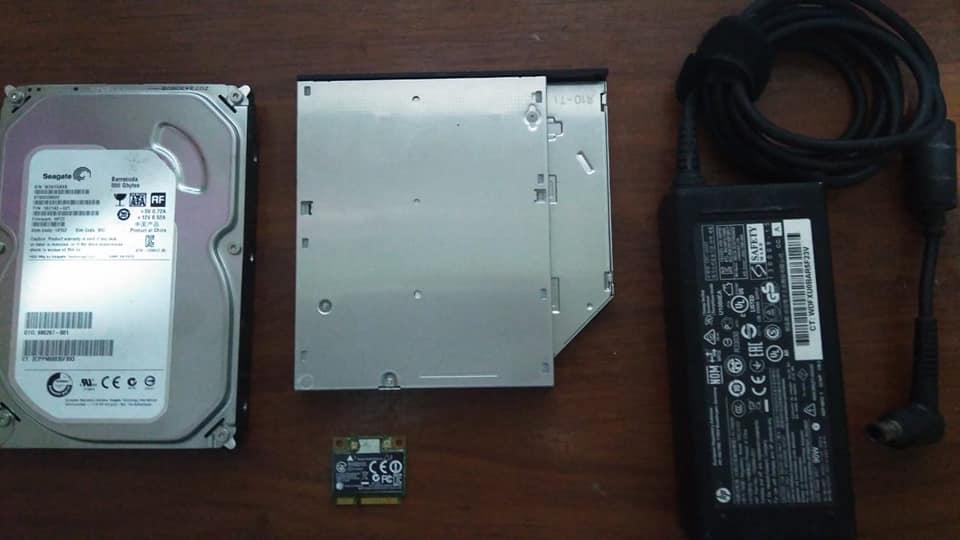 Cargador de HP compaq All in One Modelo:la,unidad CD