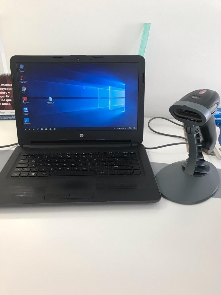 Computador Portátil Hp 245 G6 Amd EE Disco Duro 500Gb