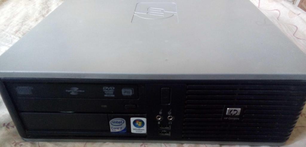 Computador de mesa hp compaq dc small