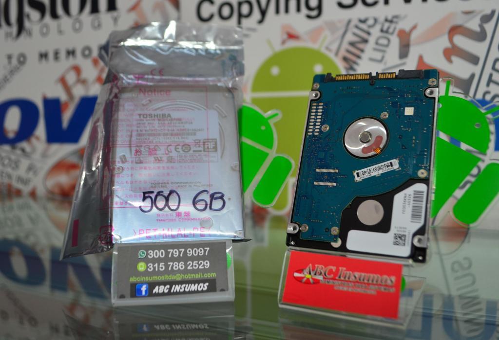 Disco Duro De 500gb Para Portatil Toshiba Envio Gratis