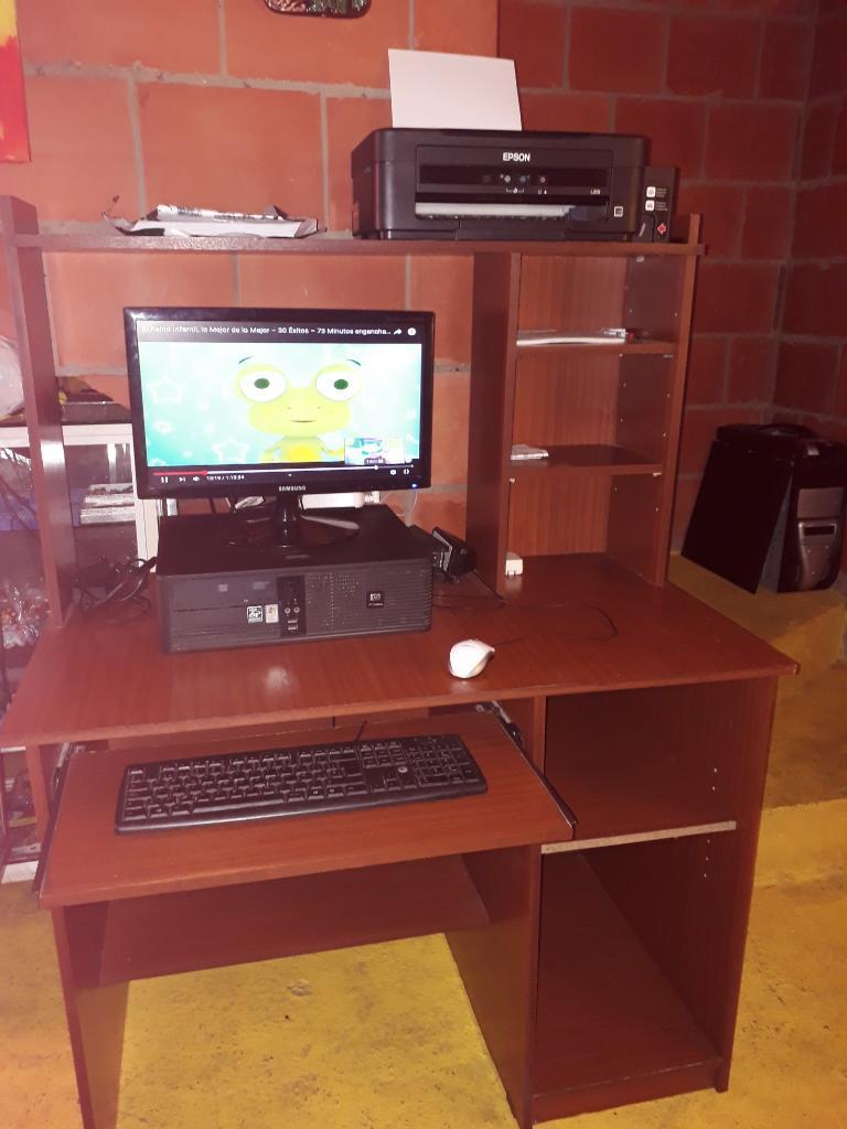 Gangazo Computador Mesa Y Impresora