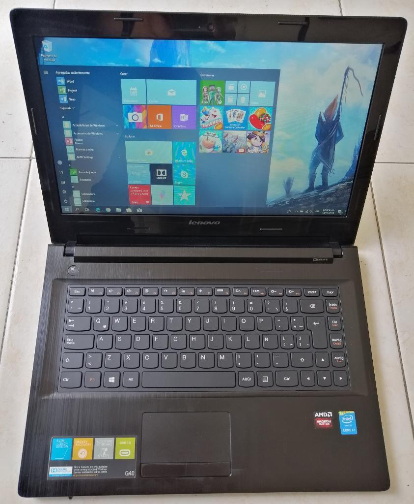 Portatil Lenovo Core I7 2gbvideo 8gb 1tb