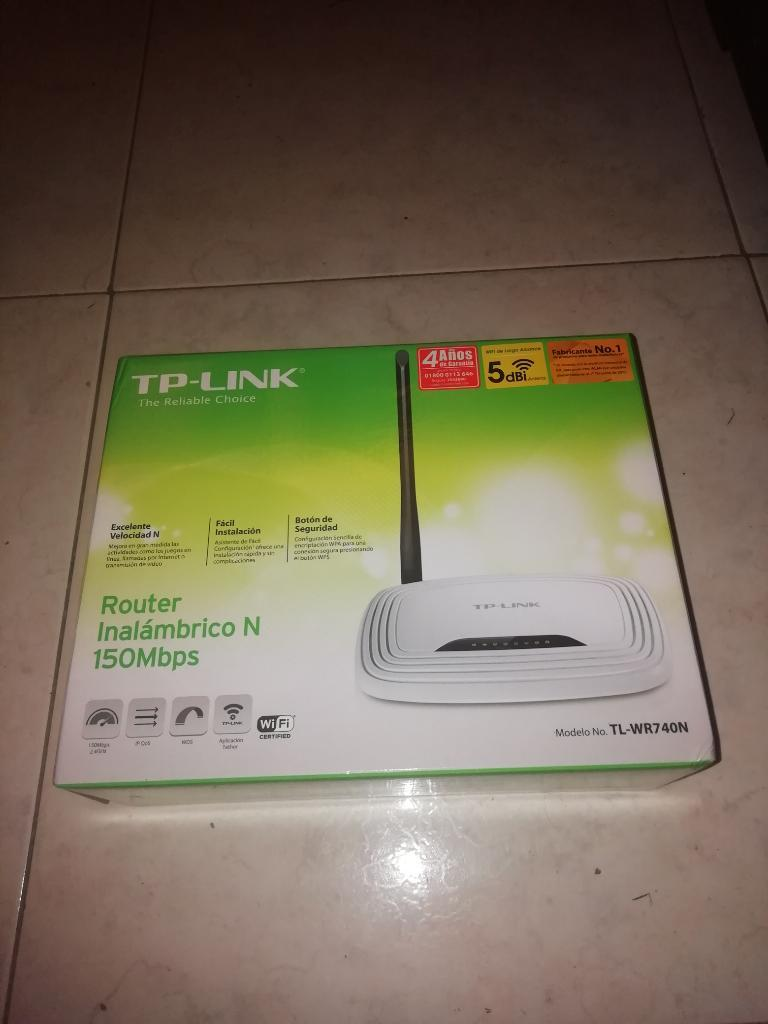 Router Inalambrico N 150 Mbps Tplink