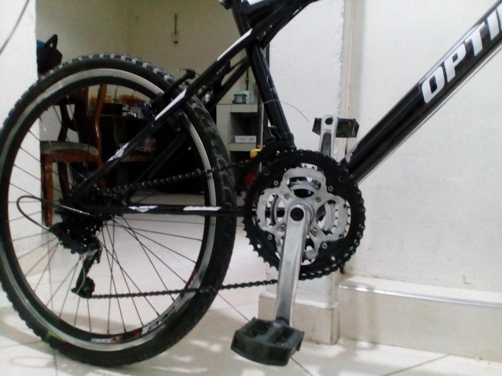 Bicicleta Rin 26 con suspension delantera.