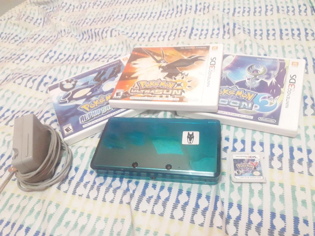 Nintendo 3ds Y Juegos de Pokémon