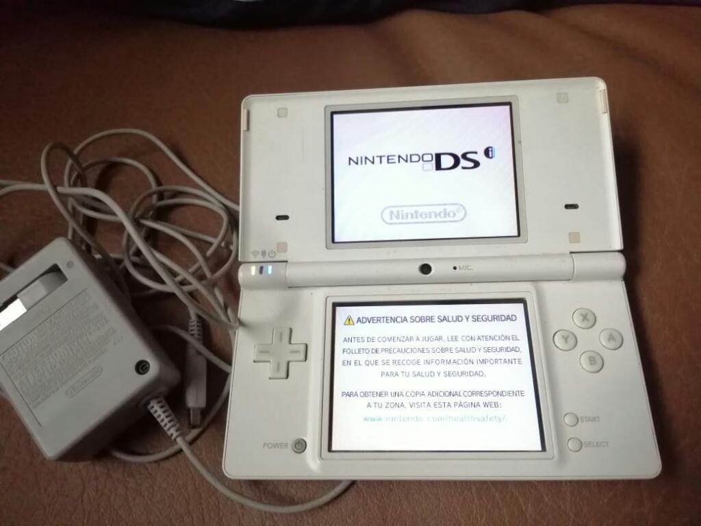 Nintendo Dsi Buen Estado Cargador Y 2 Ju