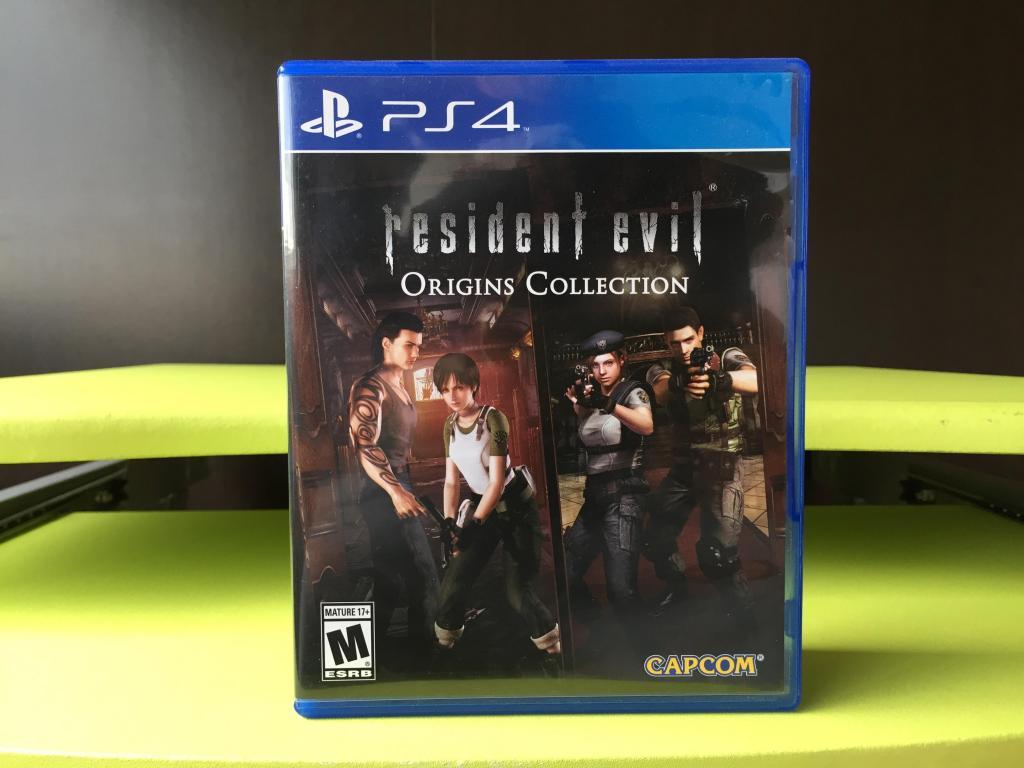 RESIDENT EVIL ORIGINS COLLECTION para PS4 !!! COMO NUEVO