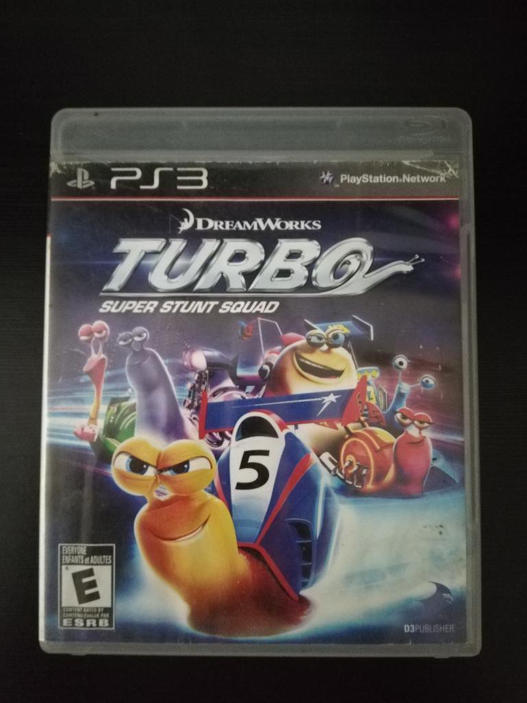 Turbo Multijugador Play 3 Ps3 Cambio o Vendo