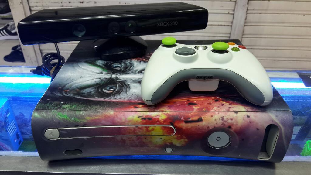 Xbox 360 Arcade con Kinet