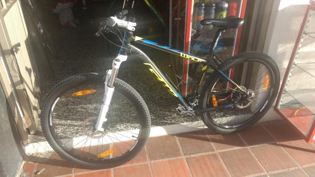 vendo bicicleta gw wolf 27.5 EN EXCELENTE ESTADO