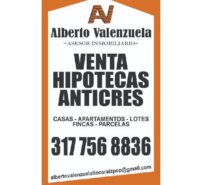 Anticres de apartamentos para estrenar barrio Santa Elena