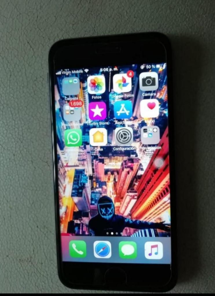iPhone 6s de 128 Gb Vendo Cambio Libre