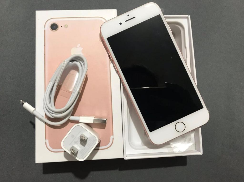 iPhone 7 Rose de 32gb Como NUEVO!