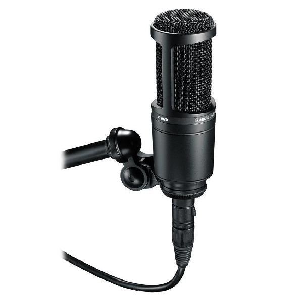 Micrófono De Condensador Cardioide Audiotechnica At2020