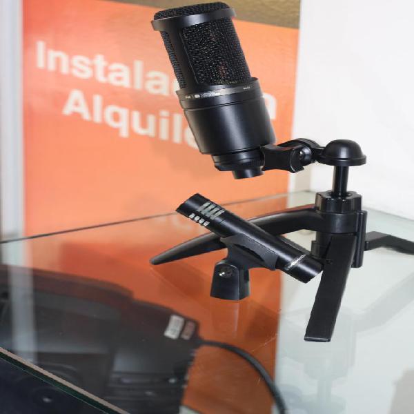 Micrófono de Condensador para Voz Audiotechnica