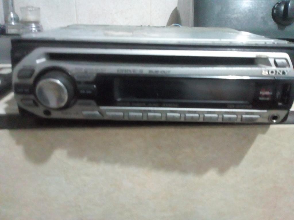 Radio Carro Sony Usb Aux Mp3 Subwofer