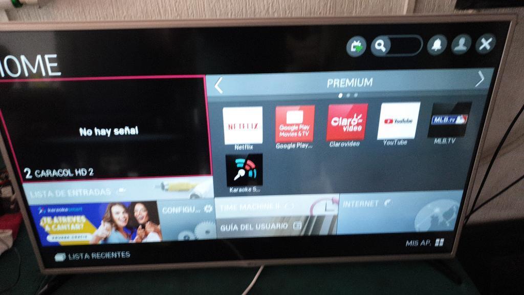 Vendo Televisor Led Smart Tv de 42