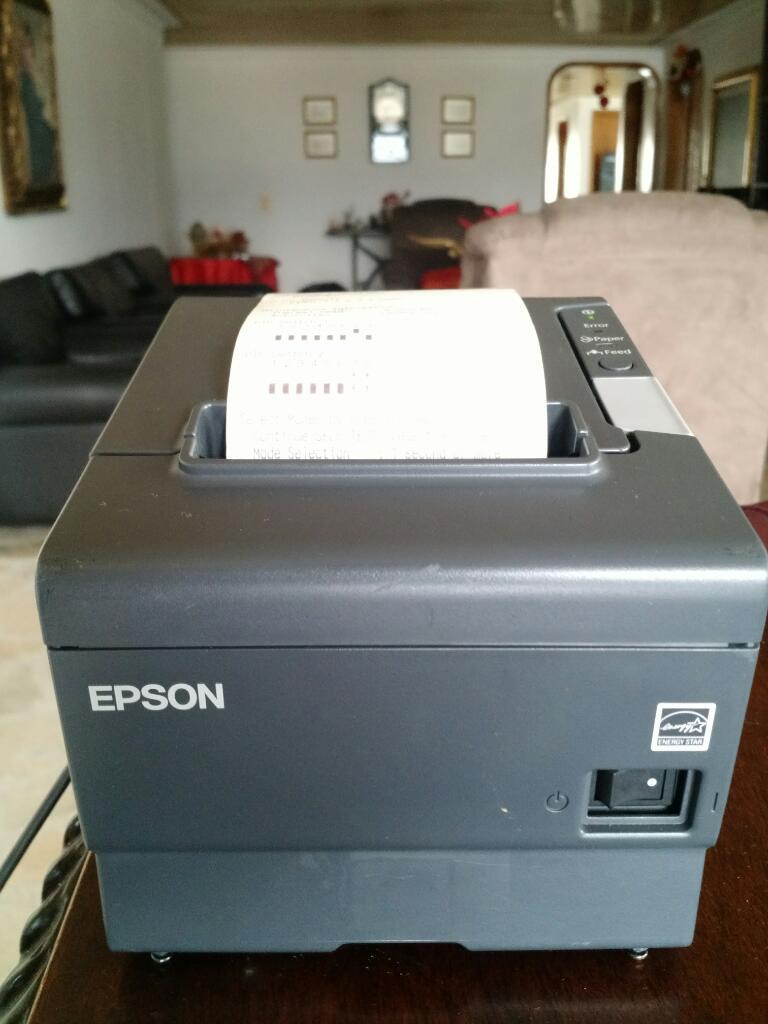 Impresora Termica Epson Pos Puerto Usb Y