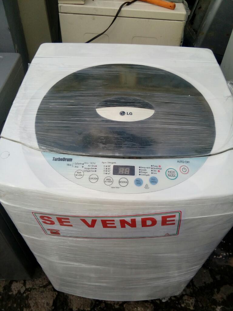 Lavadora Lg Como Nueva con Garantía