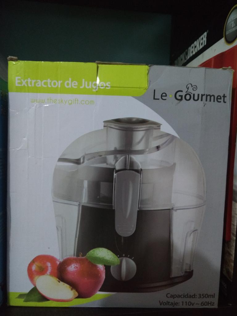 Extractor de Jugos Nuevo Gourmet