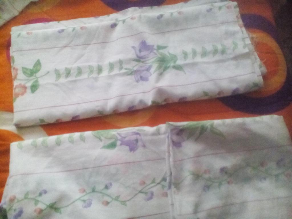 Se vende sábanas dobles de segunda