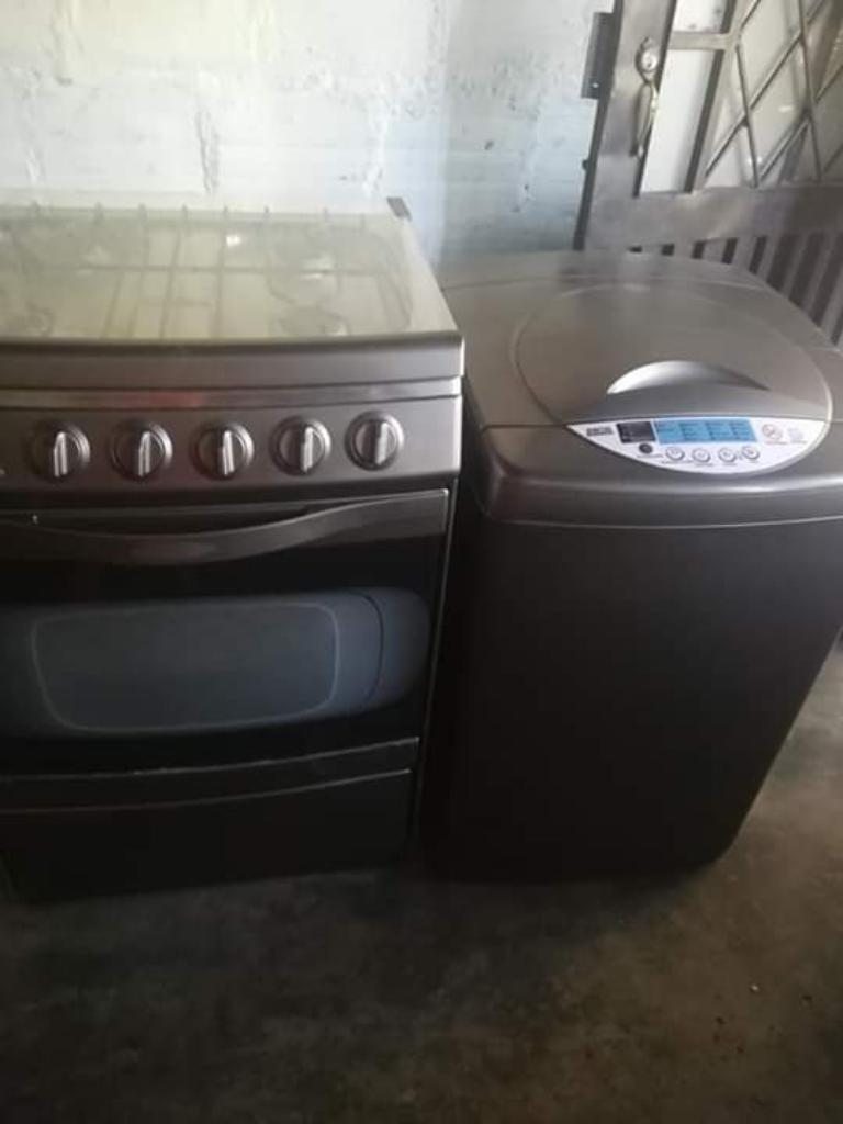 Vendo Estufa Y Lavadora Las Dos X