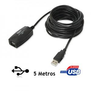 Cable Extensión Usb 2.0 Activo 5 Metros