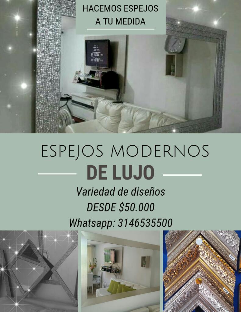 Comedores modernos y elegantes posot class for Espejos decorativos modernos bogota