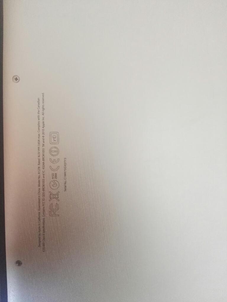 Macbook Pro 13 Core Igb de Ram 4 Gb