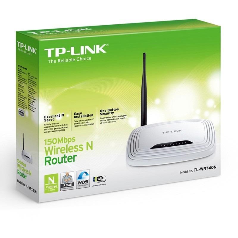 Router Inalámbrico N 150mbps Tplink Tlwr740n · Antena 5dbi