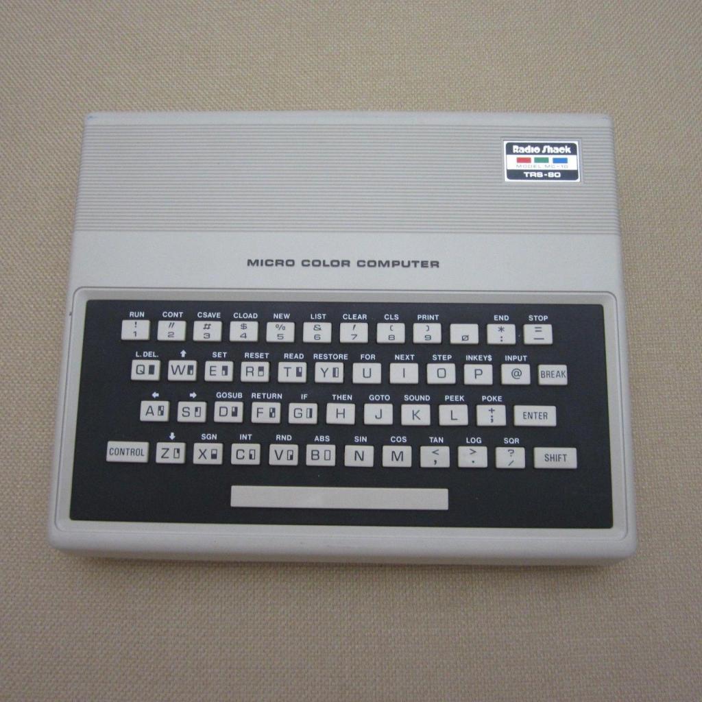 Vintage Radio Shack Trs80 Mc10 Micro Color Computer