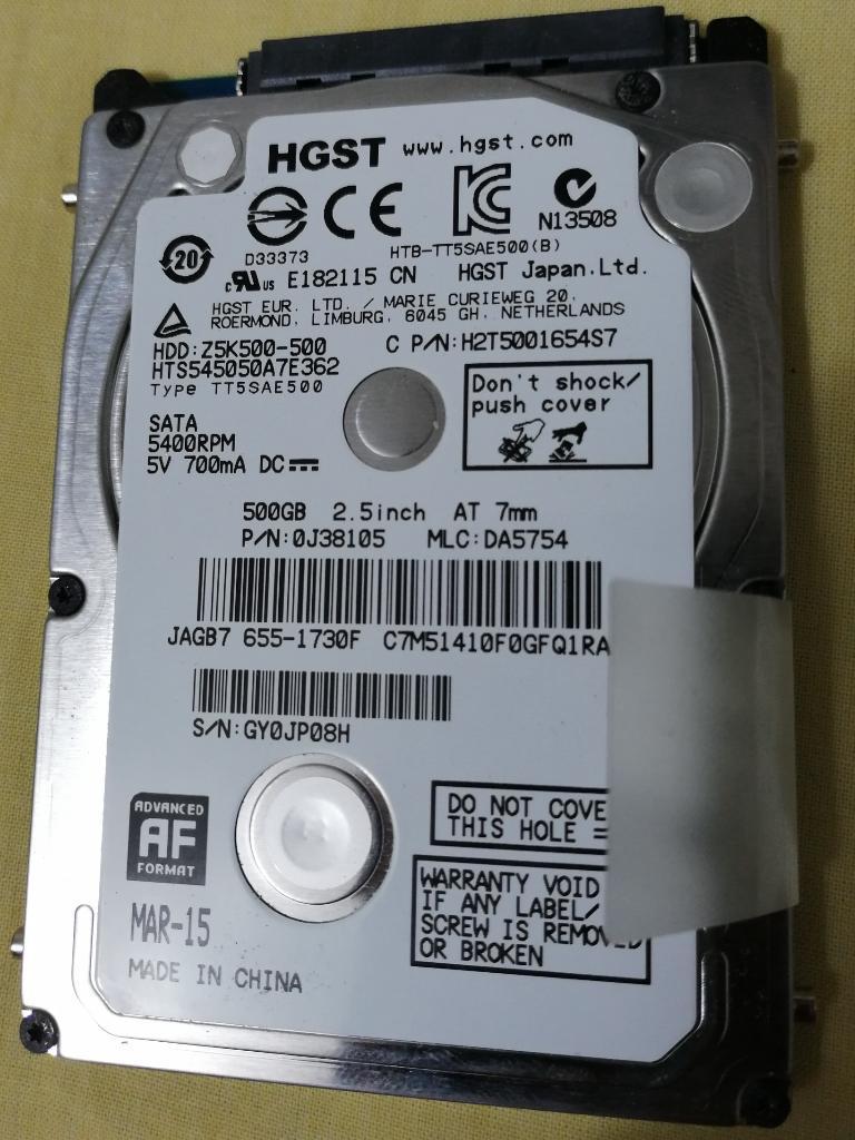 Disco Duro 500gb Macbook Pro 13 A