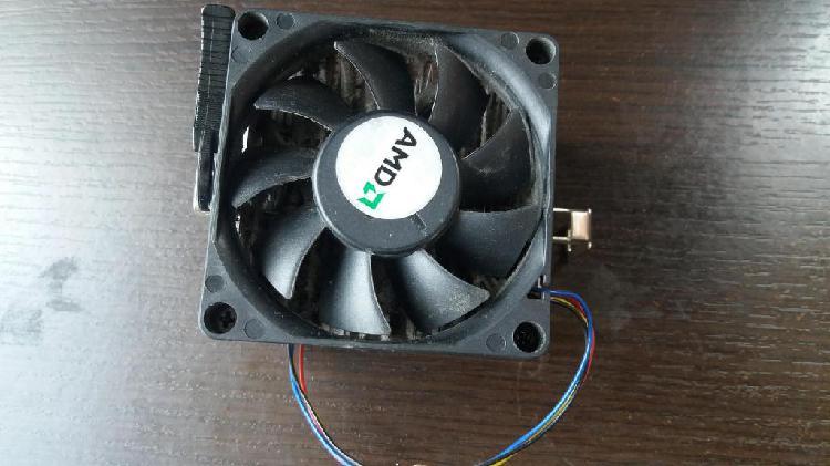 Disipador de calor para procesador AMD con ventilador