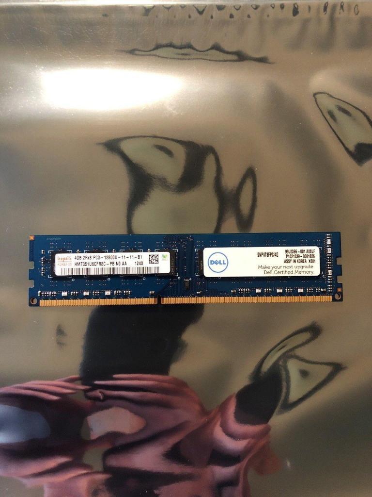 Memoria Ram 4gb mhz  Pc  Ddr3 Dell Hynix Nueva