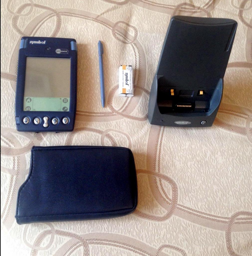 Symbol Spttrg Palm Mobile Terminal Barcode Scanner
